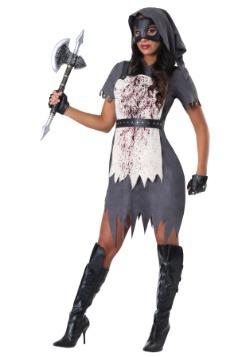 Disfraz de verdugo malvado de mujer
