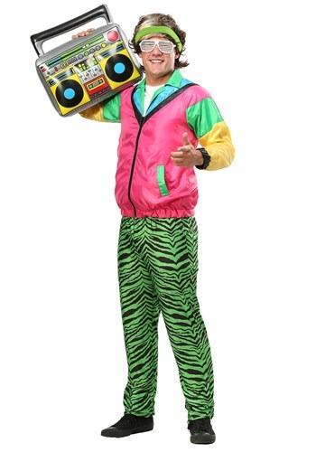 Disfraz de Jock para hombre de los años 80