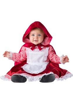 Caperucita roja Disfraz de bebé de lujo