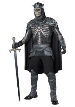 Disfraz de rey esqueleto para hombre