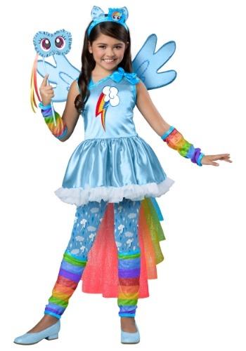 Disfraz de Rainbow Dash de My Little Pony Premium para niñas