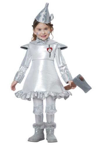 Disfraz de Tin Man para niñas pequeñas