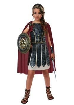Traje de Niñas de Gladiador intrépido