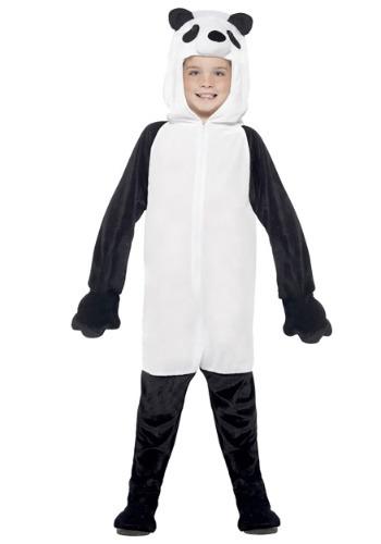 Disfraz de panda para niños