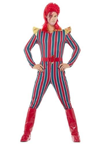 Disfraz de superestrella del espacio de los años 80 para hom