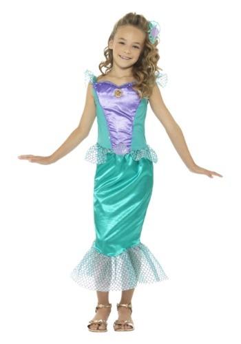 Disfraz de sirena de niña