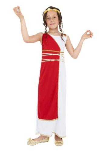 Disfraz de niña romana