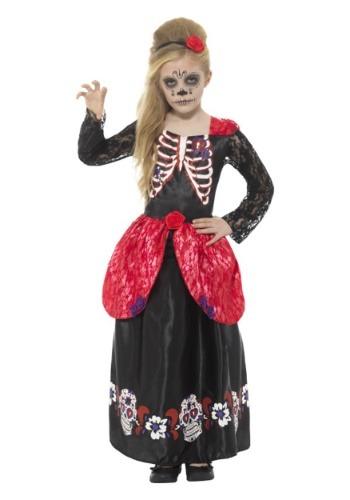 Disfraz de Día de las Muertos para niña