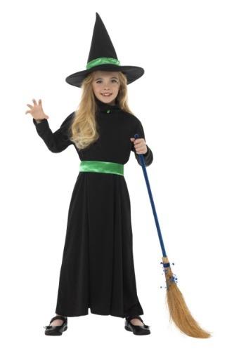 Disfraz de bruja básica para niña