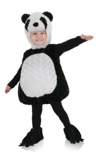 Traje de panda para niños pequeños