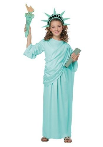 Disfraz de Estatua de la Libertad para Niñas