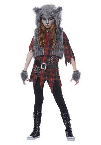 Disfraz de hombre lobo para niñas