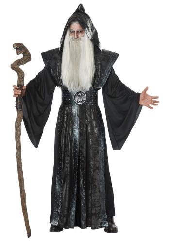 Disfraz de mago oscuro para hombre