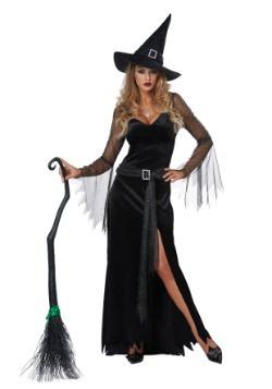 Disfraz de bruja rica para mujer