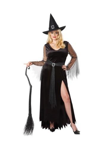 Disfraz de bruja mujer talla grande
