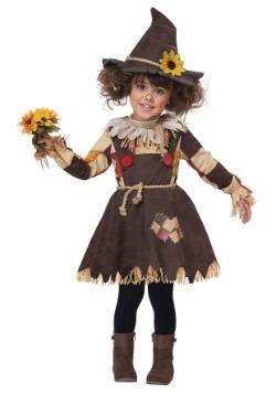 Disfraz de espantapájaros parche de calabaza niño