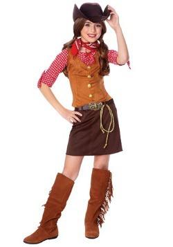 Disfraz de pistolera para niñas