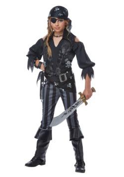 Disfraz de pirata rebelde para niña