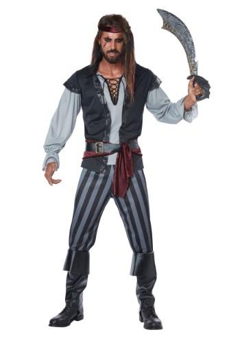 Disfraz de pirata Scallywag para hombre