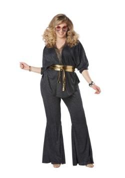 Disfraz Disco Dazzler Plus Talla para mujeres