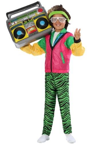 Disfraz de Jock Boys de los años 80