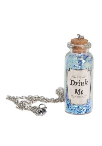 Collar de botella con poción de Alicia
