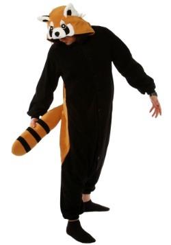 Kigurumi de panda rojo para adulto