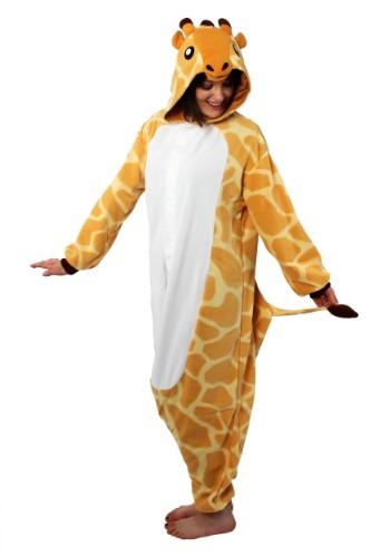 Disfraz de jirafa Kigurumi para adulto