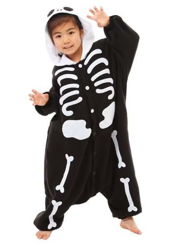 Kigurumi de esqueleto para niños