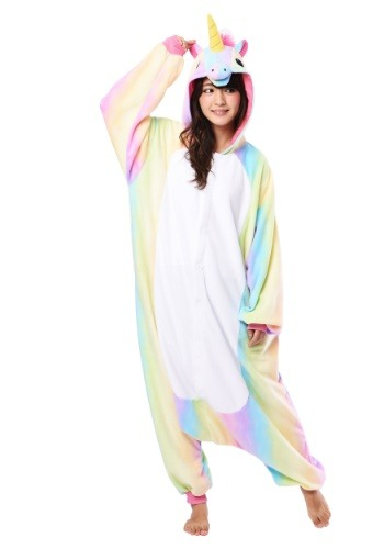Rainbow Unicorn Kigurumi Adulto