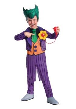 Disfraz Deluxe Joker para niño pequeño
