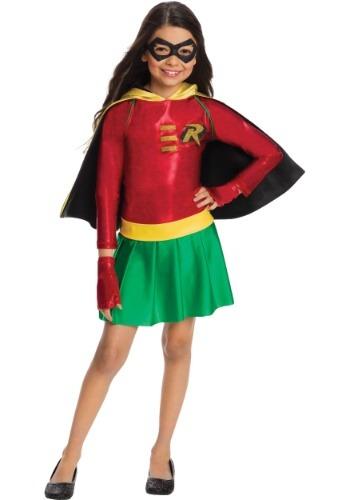 Disfraz de Robin niña