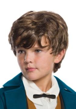 Peluca de niño Newt Scamander