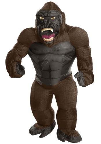 Disfraz infantil inflable de King Kong