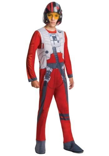 Disfraz piloto Poe Fighter de Force Awakens Star Wars niño