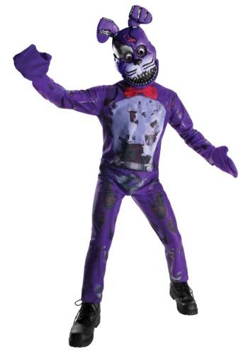 Disfraz de Bonnie de Five Nights at Freddy's Nightmare niños