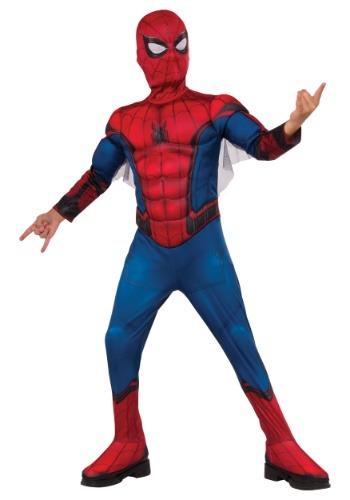 Disfraz de Spiderman de lujo para niños