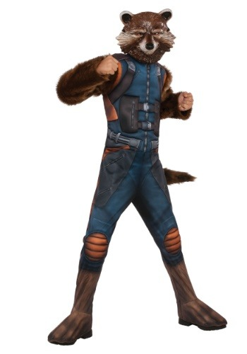 Rocket Raccoon deluxe para niño