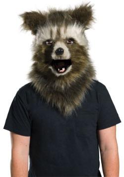 Máscara pelo sintético de mandíbula móvil de Rocket Raccoon