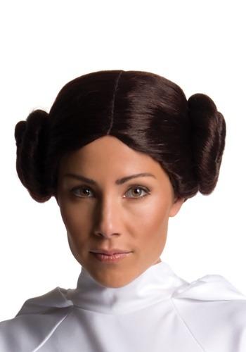Peluca de la Princesa Leia Secret Wishes