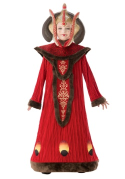 Disfraz de Reina Amidala de la Guerra de las Galaxias niña