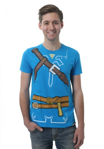 Camiseta de Legend of Zelda Breath of the Wild hombre