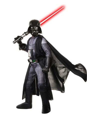 Disfraz realista Darth Vader la Guerra de las Galaxias niño