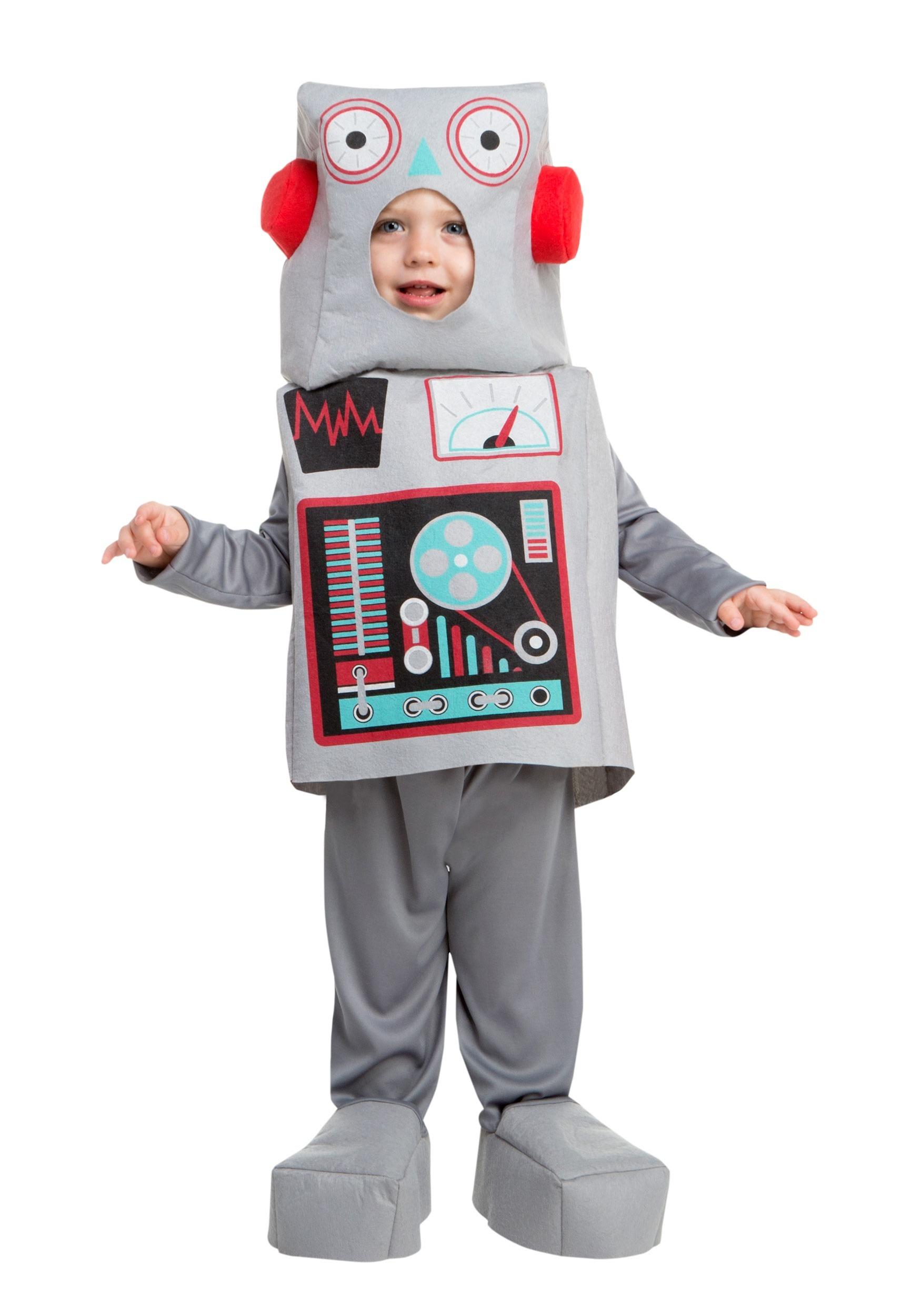Disfraz Juguete Niños Para De Robot QoxrBedCW