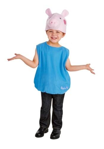 Disfraz de George Pig para niño