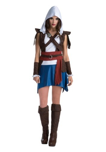 Disfraz de Assassins Creed Edward Kenway Classic para mujer