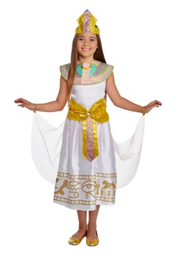 Disfraz de niña colorido Cleo Deluxe