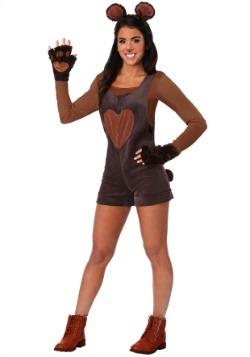 Disfraz de oso peluche para mujer