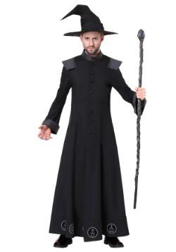 Disfraz de Warlock para hombre talla extra