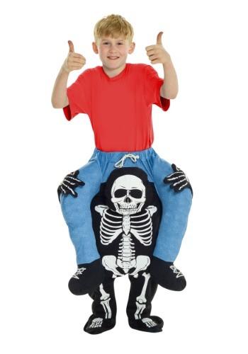Disfraz de montar en la esqueleto para niños